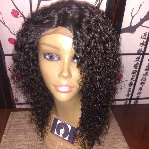 Wigs By Asia Accessories 14 Inch Brazilian Deep Curly Human Hair Wig Poshmark